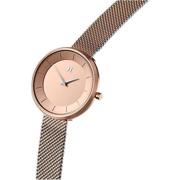 Weesky Quartz Watch Golden Case afbeelding 1
