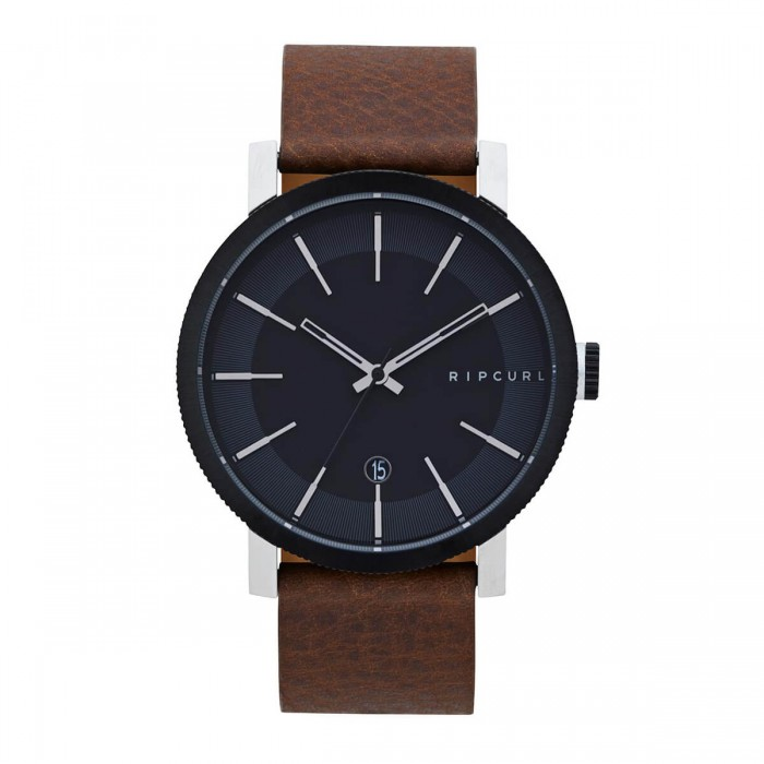 Circle Dial Plate Adorn Quartz Watch