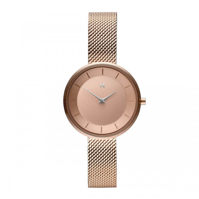 Weesky Quartz Watch Golden Case